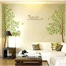 >amazon tree wall art decals graphic for home decor wall  tree wall art decals graphic for home decor wall sticker twin tree