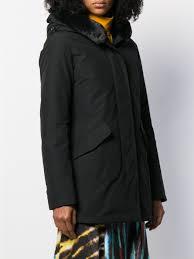 Woolrich Coats Parka Beaker Parka Black Tessabit