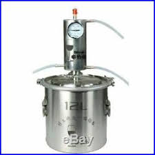 <b>12L Moonshine</b> Alcohol Distiller Kit Vodka Making Machine Home ...