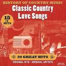 History of Country Music: Classic Country Love Songs