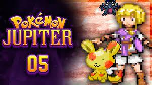 I HAVE TO WALK THROUGH WALLS? Pokemon Jupiter Rom Hack Let's Play w/ Sacred  - Episode 5 - YouTube