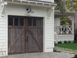 garage door for shedPorch roofing and exterior lighting ideas  Wood garage doors