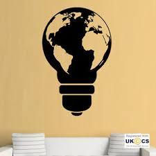 office wall stickers. Simple Office Image Is Loading LightBulbWorldMapCoolOfficeWallArt In Office Wall Stickers