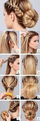 Die Atemberaubenden Up Do Frisuren Geflochtene Duttsgeflochtene Haareatemberaubende Frauenabiball