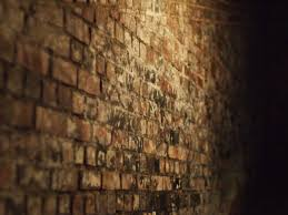brick wall dark festung fortress old brick tunnel wall 4k wallpaper and background