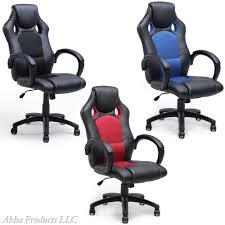 bucket office chair. adjustable hydraulic high back ergonomic office chair bucket seat swivel leather e
