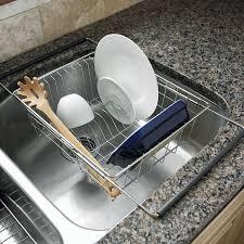 Kitchen Drying Rack For Sink Kitchen Sink Dish Racks Victoriaentrelassombrascom
