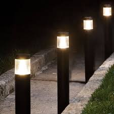 garden lamps and lighting