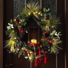 Holiday Living Gold Mini Lights A Classic Christmas Wreath Gets A Warm Update With The