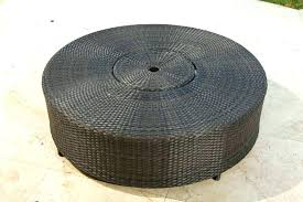 wicker coffee table round outdoor coffee table round image of large round wicker coffee table small