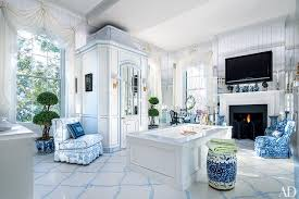 40 Rooms That Showcase BlueandWhite Decor Photos Architectural New Blue Living Rooms Interior Design