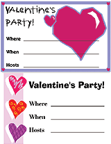valentines party invitations free printable valentines day party invitations familyeducation