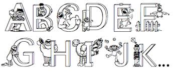 Sesame Street Alphabet Free Coloring Pages On Art Coloring Pages