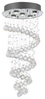 ball chandelier. raindrop crystal ball chandelier contemporary-chandeliers g