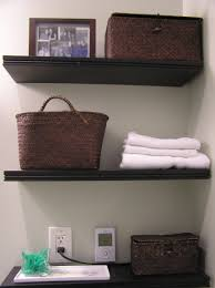 modern bathroom shelving. Bathroom Shelves With Baskets New In Awesome 33 Storage Hacks And Ideas That Will Enhance Your Home Homesthetics 7 Modern Shelving N