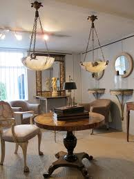 good pair of french alabaster lights