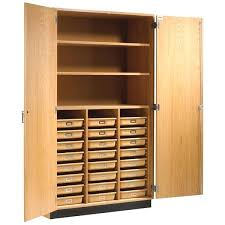 B Wood Storage Cabinets With Doors And Shelves Wall Units Tall Cabinet  Office