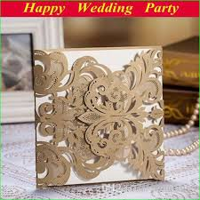 high class wedding invitation card laser cut flower brown Affordable Spanish Wedding Invitations high class wedding invitation card laser cut flower brown personalized wedding invites wedding favor new arrival free shipping Spanish Wedding Invitation Wording