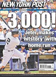 Derek Jeter Born To Be A Yankee New York Post