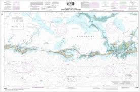 Intracoastal Waterway Nautical Charts Noaa Chart Intracoastal Waterway Matecumbe To Grassy Key 11449