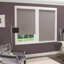fabric roller blinds. Modren Fabric This Review Is FromGrey LinenLook Thermal Fabric Cordless Roller Shade   35 In W X 66 L Intended Blinds