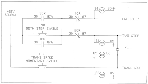 2 step w stock ecm yellow bullet forums here is the diagram