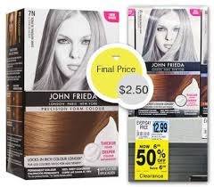 Take action now for maximum saving as these discount codes will not valid forever. John Frieda Precision Hair Colour Only 2 50 At Rite Aid The Krazy Coupon Lady