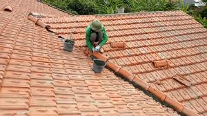 how to finish valley on the roof tile building installing laying roof tiles