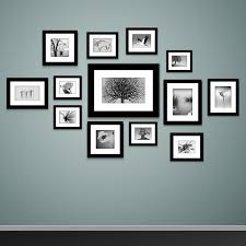 black picture frames wall. Exellent Black How To Mount Photo Frames On The Wall Inside Black Picture