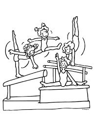 Kp Turnen Sport Sports Coloring Pages Sports En Coloring Pages
