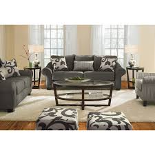 Value City: Colette Gray Sofa (with photos of the loveseat, chair ...