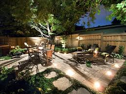 outdoor terrace lighting. Great Backyard With Lighting. Perfect For Pool Area Without Plants \u003c3 Outdoor Terrace Lighting