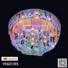 china led crystal glass ceiling chandelier with color changing yf607 r5 china ceiling chandelier glass ceiling chandelier