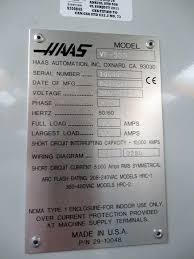 haas vf3 ss vmc 2011 1st machinery enlarge