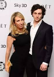 It is highly unusual for the woman to be older than the man but it     s not altogether uncommon  One example would be Sam Taylor Johnson and her    years