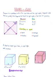 Square Cube Students Chart