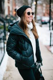 if long coats aren t your thing or you don t need quite so much warmth the short puffer is one of our favorite options katie looks fresh off the slopes