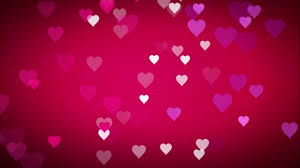 Cool Pink And Black Background Animated Many Moving Small Pink Purple White Hearts On Pink Black