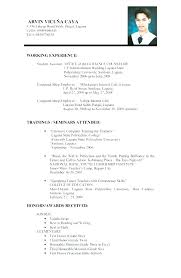 Resume Format Job Application Template Simple Best For Your Cover