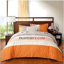 gray orange comforter amazing cherry blossom cotton bedding sets in grey orange and within orange and