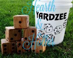 Wooden Lawn Games Yahtzee dice clipart collection 90