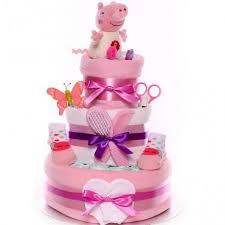 Peppa Pig Nappy Cake Baby Girl