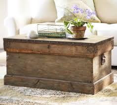 trunk table furniture. Pottery Barn Rebecca Chest Trunks For Coffee Table Furniture Wooden Trunk