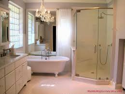 white master bathroom makeover mommy is coocoo on remodelaholic
