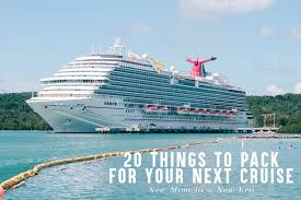 7 Day Cruise Packing List Family Cruise Packing List Top 20 Things To Pack For Your