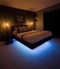 Bed With Lights Around It Lights Around Bed Frame Bigit Karikaturize Com
