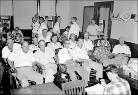emmett louis till beautiful in 1955 a mississippi jury seated in the first two rows acquitted the two white men of murdering emmett till 14 source