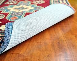 rug pad runner hold by central area nonslip felt rubber and best cool decor