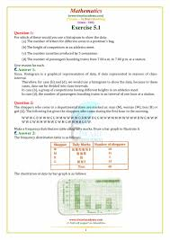 Ncert Solutions For Class 8 Maths Chapter 5 Data Handling