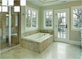 comfortable drop in bathtub for modern bathroom design ideas